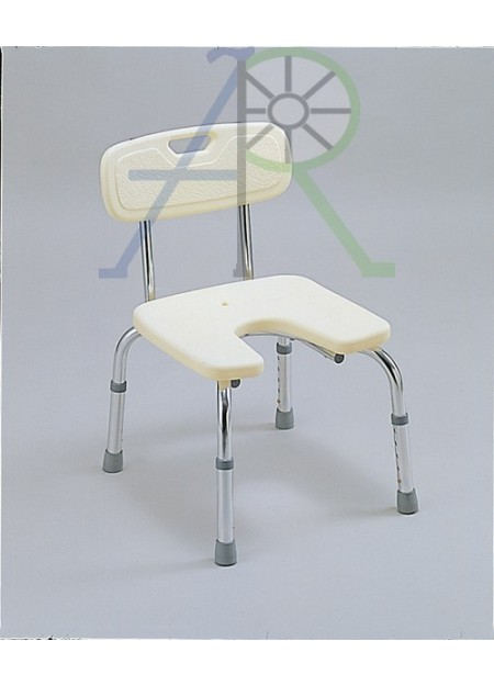 "U-shaped bath chair - ""Miki"""