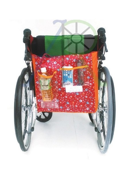 Wheelchair outdoor storage bag (Parallel import)