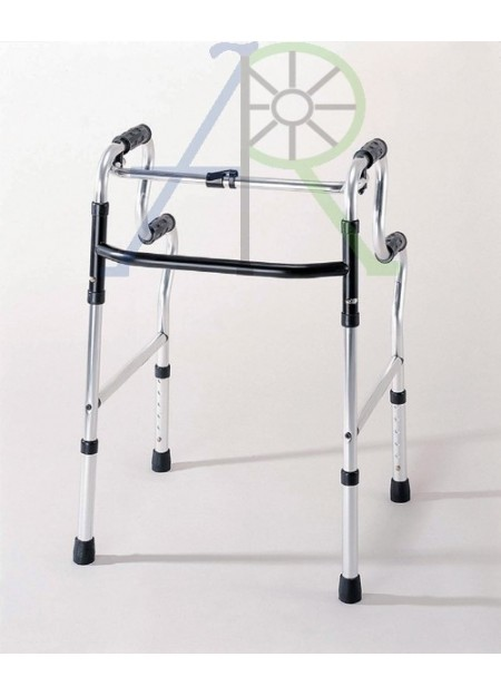 "Folding compact double-layer grip walker - ""Action Japan"""