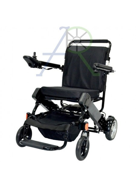 Electric folding wheelchair