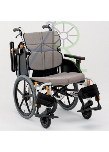 Low-seat wheelchair for nursing (Parallel Import)