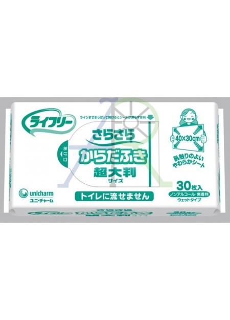 Body clean wipes (Parallel Import)
