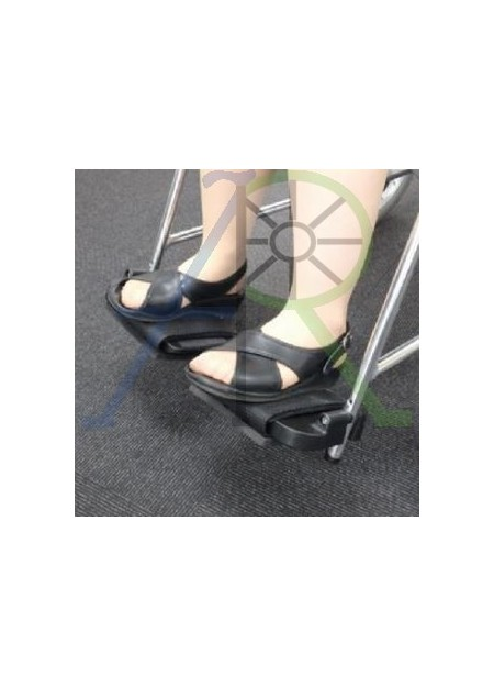Wheelchair footboard guard (Parallel Import)