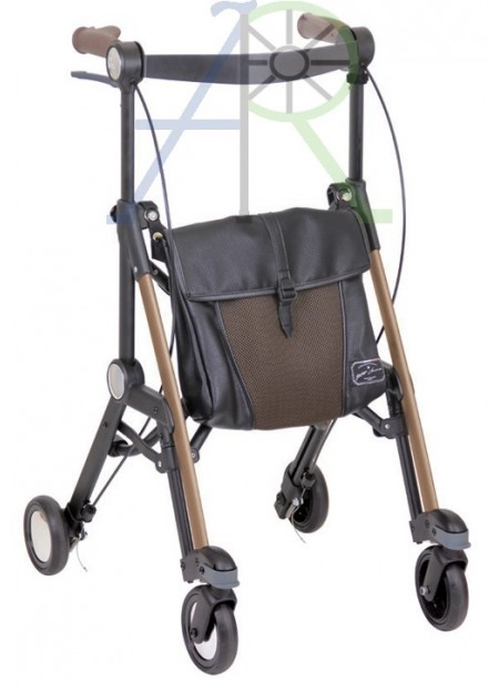 Compact folding rollator (Parallel Import)