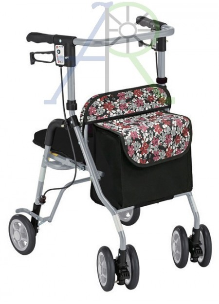 Four-wheeled rollator (Parallel Import)