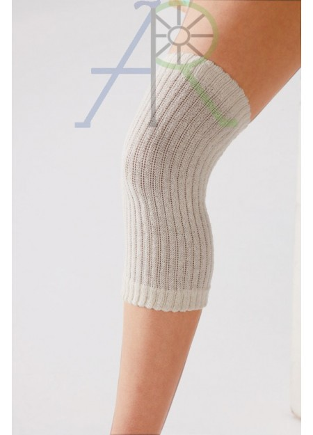 Loose knit silk support knee pads (Parallel Import)