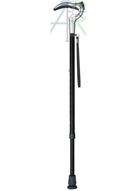 Telescopic leather crutch (Parallel Import)