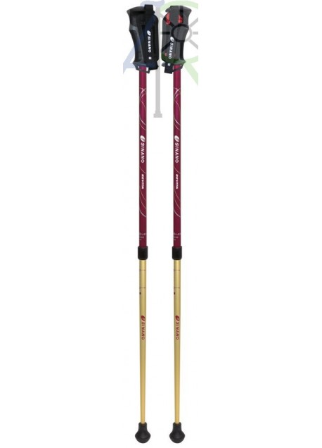 Retractable hiking stick (Parallel Import)
