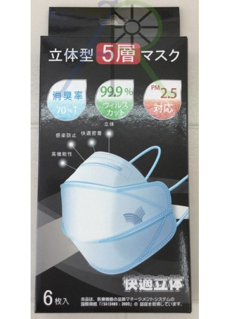 3D Five Layer Mask (Parallel Import)