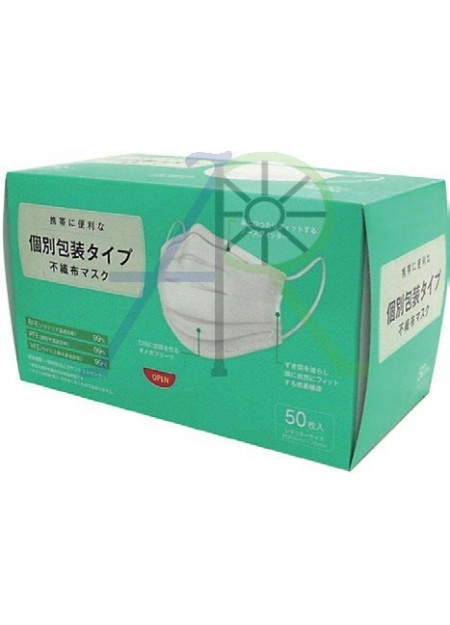 3 Layer Individual packing mask - Nippon Mask (Parallel Import)