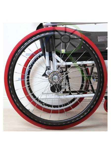 Wheelchair rear wheel cover