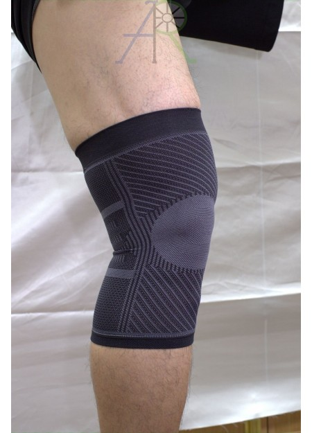 Thin high-tension knee pads