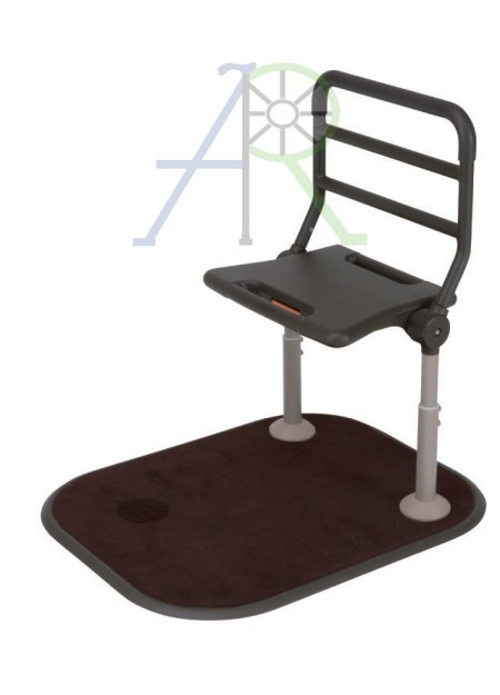 Foldable spare chair