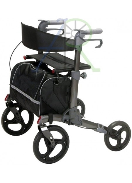 Aluminum Folding Aid 4-Wheels Shopping Cart