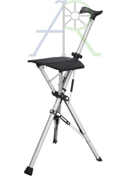 Crutches seat - Two way Cane (Parallel import)