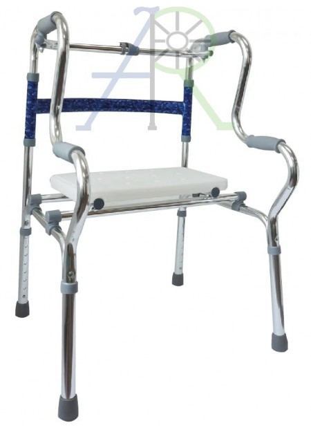 Multifunctional Double Folding Walker