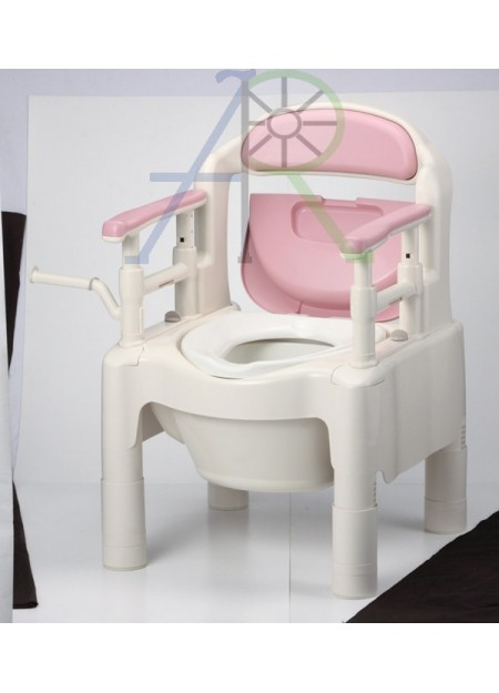 "Portable toilet chair ""ちびくまくん"""