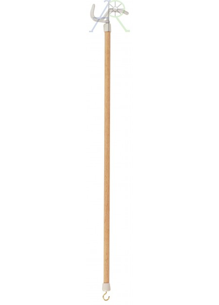 Clothing assistant stick